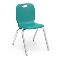"Virco N2 Stacking Chair - 16""H"