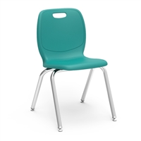 "Virco N2 Stacking Chair - 18""H"