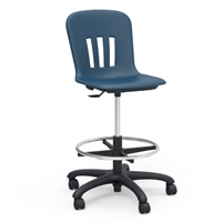 Virco Metaphor Student Swivel Lab Stool w/footring