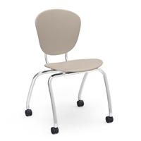 "Virco Parison Civitas Chair - 18""H Mobile"