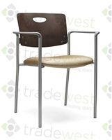 Accent Series Stacking Chair - Wood Back