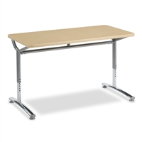 Virco TEXT Adjustable Height Tables - 24x48