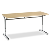 Virco TEXT Adjustable Height Tables - 24x60