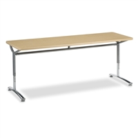 Virco TEXT Adjustable Height Tables - 24x72