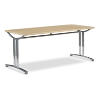 Virco TEXT Adjustable Height Tables - 30x72
