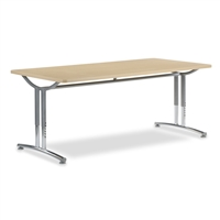 Virco TEXT Adjustable Height Tables - 36x72