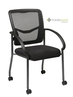 PRO GRID Mesh Back Guest Arm Chair - MOBILE