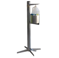 Pedal Activated Industrial Hand Sanitizer Station by Trade West