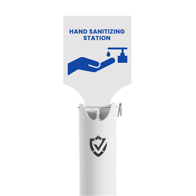 UBT Shield Hand Sanitizer Signage