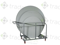 ENERGi Premium Round Table Cart-Transporter