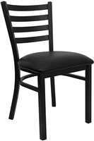 ENERGi - Metal Cafe/Bar Chairs - Ladder Back