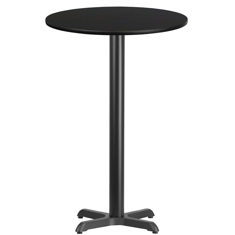 24 round table w x base tall - Tall Round Table