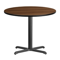 "36"" Round Table w/ X-Base"