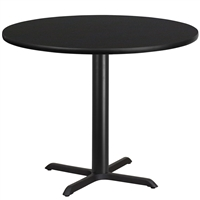 "42"" Round Table w/ X-Base"