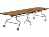 Mobile Cafeteria Tables - Folding - 30x144