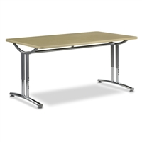 Virco TEXT Adjustable Height Tables - 36x60