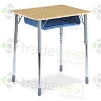 ZUMA Oversize Student Desk - 20x26 Rectangle
