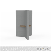 Heyes Y-Wall - Sitting Height with Small Worksurfaces