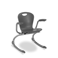 ZUMA Armed Classroom Rocking Chairs - Small - 13""