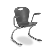 ZUMA Armed Classroom Rocking Chairs - Medium - 15""