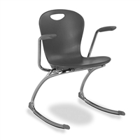 ZUMA Armed Classroom Rocking Chairs - Large - 18""
