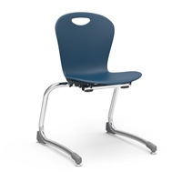 "ZUMA STACKING Cantilever Chairs - 15""H"