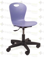 "Virco ZUMA Swivel Chairs - 15"" Small"