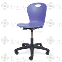 "Virco ZUMA Swivel Chairs - 18"" Large"