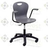 "Virco ZUMA Swivel Chairs - 18"" Large w/arms"