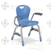 "Virco ZUMA Arm Stacking Chairs - 13""H"