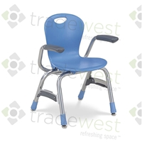 "ZUMA Series Stacking Chairs - 13"" - With Arms"