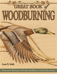 Great Book of Woodburning by Lora  Irish