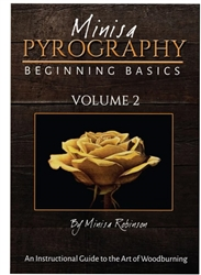 DVD Minisa Pyrography Beginning Basics Vol 2