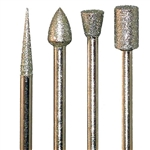 Diamond Bur Set - 4pc