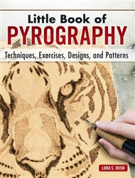 Little Book of Pyrography- GIFT EDITION - Irish
