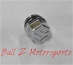 "Chrome Suzuki Smooth 3D Hex Engraved ""S"" Oil Filler Cap"