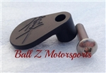 Solid Black Engraved Front Sprocket Speed Sensor Switch Cover
