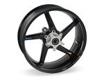 Brock's Performance Rear Wheel 5.5x17 Triumph 675 5 Spoke Swept