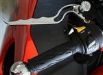 "Chrome Custom Billet ""Hayabusa Engraved Brake/Clutch Levers"