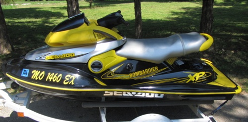 1995 seadoo gts top speed