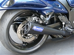 "Brock's Performance Alien Head Black 20"" Muffler Suzuki Hayabusa (08-11) Exhaust System"