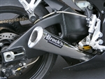 "Brock's Performance Alien Head 14"" Muffler Suzuki GSX-R1000 (05-06) Exhaust System"