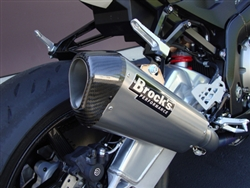 Brock's Performance CT Full Single Titanium BMW S1000RR (10-11) Exhaust System