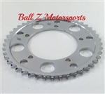 Driven Racing Chrome Steel 45 th tooth 530 Pitch Rear Sprocket