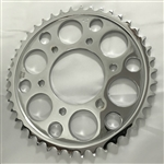 Chrome Steel 42 th tooth Rear Sprocket for RC Component Wheels