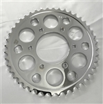 Chrome Steel 44 th tooth Rear Sprocket for RC Component Wheels