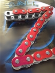 EK ZVX3 ZX-Ring 530 Pitch 150 Link Red/Silver Premium Motorcycle Chain