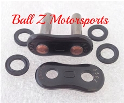 530Z/3D/B-MLJ EK Black Rivet Masterlink for (3D) Z  530 Pitch Motorcycle Chains