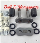 530ZVX3-SLJ Silver Screw On Masterlink for EK ZVX3 530 Pitch Motorcycle Chains