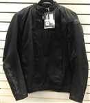 Women's Speed And Strength Black/Black SS Tough Love Textile Armored Motorcycle Riding Jacket SZ XL
